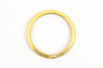 平リング<21mm>(5コ)真鍮生地