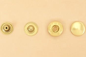 (B12)真鍮製バネホック<特大>8050 ソリッドブラス・素仕上げ