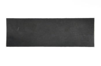 <オークション>サドルレザー・スタンダード・マット<ブラック>裁ち革10 cm×29.5 cm