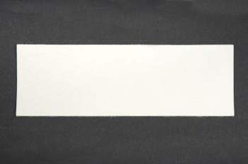 <オークション>カラーヌメ革<ホワイト>裁ち革10 cm×29.5 cm