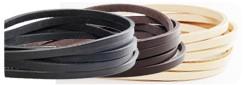 LCサドルレザースタンダードグレージングレース 8mm巾(5本まとめ買い)