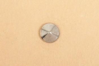 丸ピラミッドカシメ小<7mm>ニッケル  10コ入