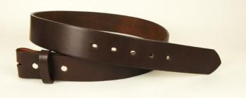 完成品ベルト<ハーマンオーク・ブライドルレザー>シングルピン用・35S<巾3.4cm>