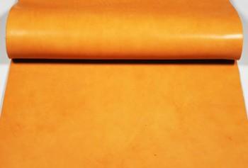 60cm巾カット販売・アメリカンオイルレザー<ブラウン>(46デシ)