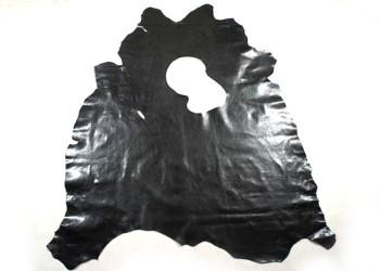 <在庫処分価格!>牛色革 ブラック  (同等商品:151デシ)