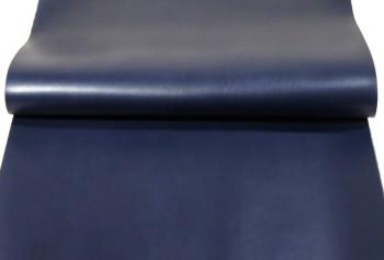 60cm巾カット販売・カラーヌメ革<ネイビー>(55デシ)