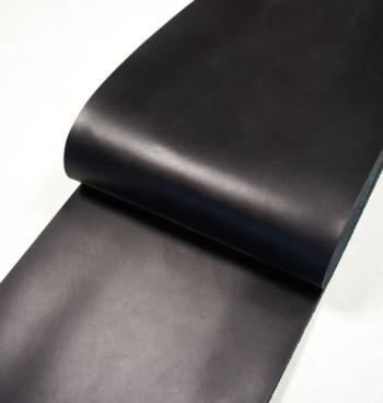 30 cm巾カット販売・栃木レザー・クラシックヌメ<ブラック>