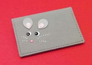<ねずみの小物>カードケース