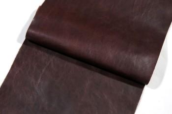激安!30 cm巾カット販売<牛色革・ダークブラウン>
