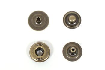 THK真鍮製バネホック<ハンシャ(隠し頭)タイプ>アンティーク(10個入)