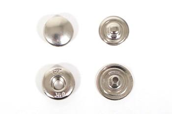 THK真鍮製バネホック<頭付きタイプ>ニッケル(10個入)