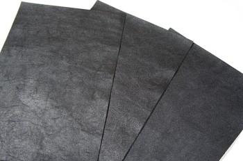 イングリッシュ ホースフロント ビンテージ 黒【シボ】裁ち革2030