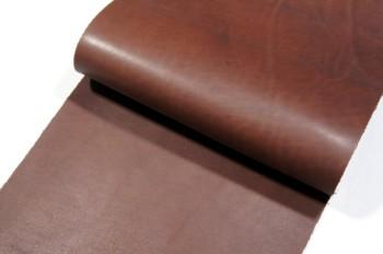 <OUTLET>30cm巾カット販売・牛コンビなめし革<チョコ>