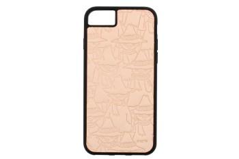 ムーミンレザークラフトキット・iPhone ケース6・6S・7・8 【スナフキン】