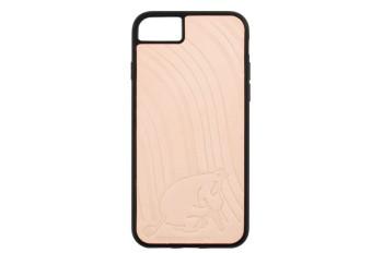 ムーミンレザークラフトキット・iPhone ケース6・6S・7・8 【ムーミン・絵描き】