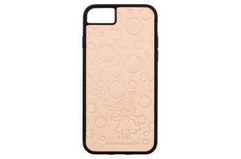 ムーミンレザークラフトキット・iPhone ケース6・6S・7・8 【ちびのミイ・シャボン玉】