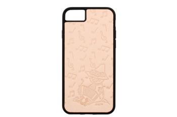 ムーミンレザークラフトキット・iPhone ケース6・6S・7・8 【スナフキン・アコーディオン】