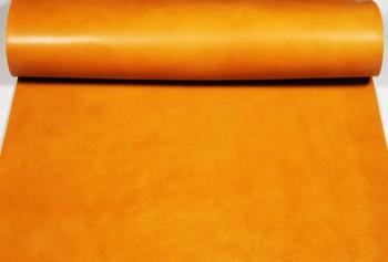 60 cm巾カット販売・LCカラーヌメ革<タン>(52 デシ)