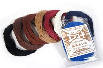 エスコード麻手縫い糸・細<30番手/3×30m>