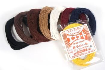 エスコード麻手縫い糸・中細<20番手/3×30m>