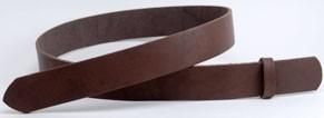 <OUTLET>LCサドルレザー・スタンダードベルト<ダークブラウン>・35L 長さ130cm<巾3.5cm(3.4cm実寸巾)>