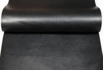 60 cm巾カット販売・LCアメリカンオイルレザー<ブラック>(57 デシ / 厚さ:1.2 mm前後)