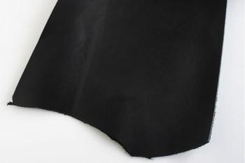 30 cm巾カット販売・LCカラーヌメ革<黒>