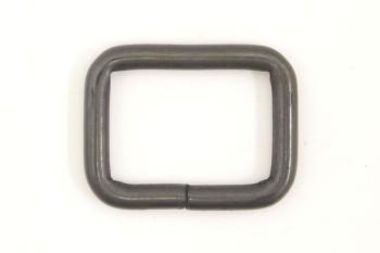 角カン(25 mm)ダールブラック 2コ