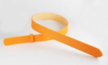 LCカラーヌメベルト・40S 長さ110cm<巾4.0cm (3.9cm実寸巾)>