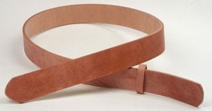 ハーマンオーク<ハーネス>レザーベルト・35L 長さ130cm<巾3.5cm(3.4cm実寸巾)>