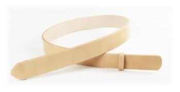 LC栃木ワイルドサドルレザーベルト(無地)・40S 長さ110cm(3.9cm実寸巾)
