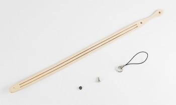 3本編み携帯ストラップキット・サドルレザースタンダード・マット