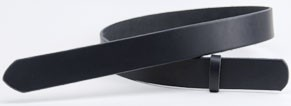 LCサドルレザー・スタンダードベルト・35S 長さ105cm<巾3.5cm(3.4cm実寸巾)>