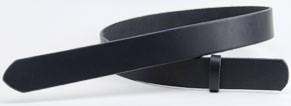 LCサドルレザー・スタンダードベルト・38Lウエスタンスタイル  長さ130cm<巾3.8cm(3.7cm実寸巾)>