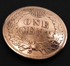 インディアンセントコインコンチョ<ONE CENT>ボタンループ式