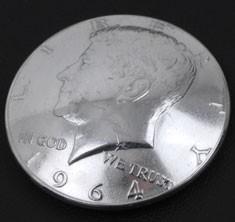 オールドケネディ-1964コインコンチョ<横顔>ボタンループ式