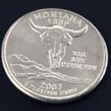 モンタナ州クウォーターニッケルコイン