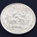 ネバダ州クウォーターニッケルコイン