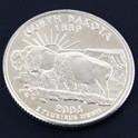 ノースダコタ州クウォーターニッケルコイン