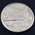 アリゾナ州クウォーターニッケルコイン