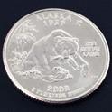 アラスカ州クウォーターニッケルコイン