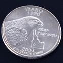 アイダホ州クウォーターニッケルコイン