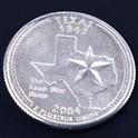 テキサス州クウォーターニッケルコイン