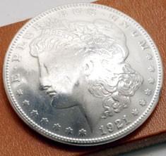 オールドモーガンコインコンチョ1921<時価>ボタンループ式