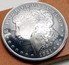 オールドモーガンコインコンチョ1921<時価>(いぶし銀タイプA )ネジ式