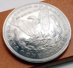 オールドモーガンコインコンチョ<イーグル>1921<時価>ボタンループ式