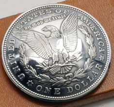 オールドモーガンコインコンチョ<イーグル>1921<時価>(いぶし銀タイプA )ネジ式