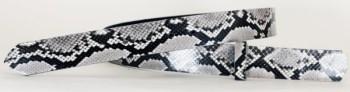 ダイヤモンドパイソンベルトBランク・38Lウエスタンスタイル サイズ36インチ~42インチ