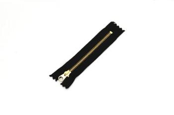 ファスナー3号(10cm)金具ゴールド