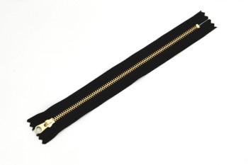 ファスナー3号(20cm)金具ゴールド